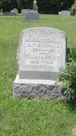 Zillah A <i>Skeens</i> Browning