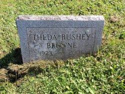 Theda P. <i>Bushey</i> Browne