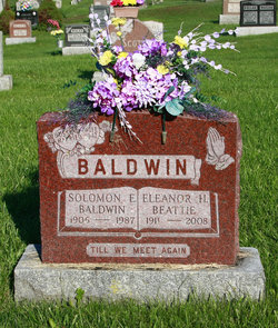 Eleanor Hilda <i>Beattie</i> Baldwin