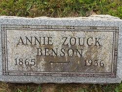 Annie <i>Zouck</i> Benson