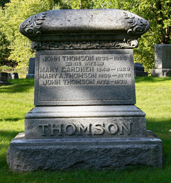 Mary Augusta Thomson