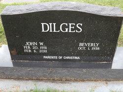 John W Dilges
