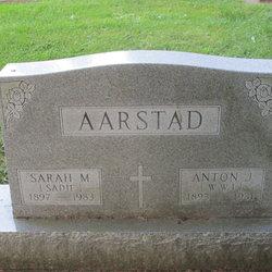 Sarah M. Sadie <i>Nelson</i> Aarstad