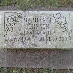 Marilyn J. <i>Aarstad</i> Johnson