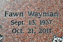 Fawn Marell <i>Wayman</i> Alexander