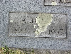 Alice Maria May <i>Lane</i> Allard