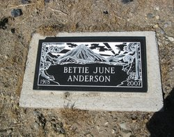 Bettie June Anderson