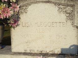 Lisa <i>Leggette</i> Albin