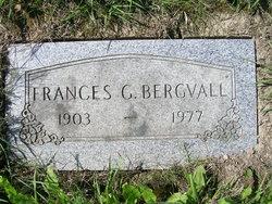 Frances Genevieve <i>Buckman</i> Bergvall