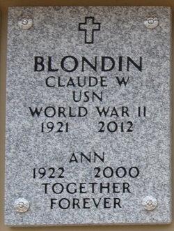 Ann Blondin