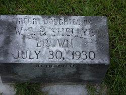 Infant Daughter Brown