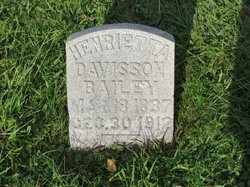 Henrietta Etta <i>Davisson</i> Bailey