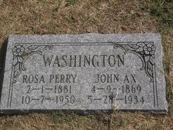 Rosie A <i>Perry</i> Washington