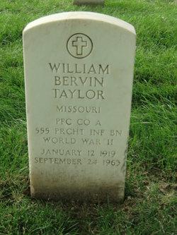 William Bervin Taylor