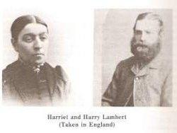 Harriet <i>Cater</i> Lambert