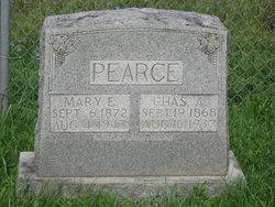 Mary Elizabeth Mollie <i>Templin</i> Pearce