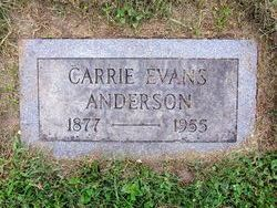 Carrie Carrie Porter Evans Price Anderson <i>Evans</i> Anderson