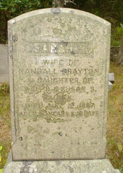 Sarah Reynolds <i>Clarke</i> Brayton