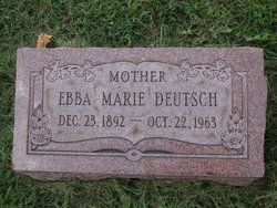 Ebba Marie Deutsch