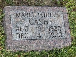Mabel Louise Cash