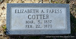 Queen Elizabeth Ann <i>Faress</i> Cotter