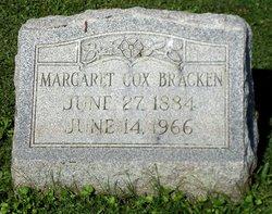 Margaret L. Maggie <i>Cox</i> Bracken
