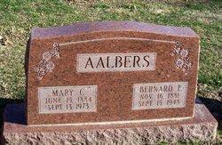 Bernard F Aalbers