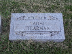 Naomi <i>Williams</i> Stearman