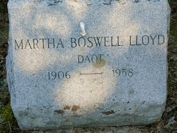 Martha Daot Boswell