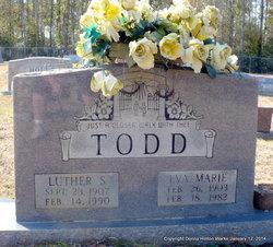 Eva Marie <i>Hall</i> Todd