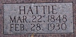 Harriet Hattie <i>Bratcher</i> Allen
