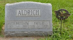 Ruth <i>Brittain</i> Aldrich