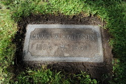 Anna W. <i>Wilson</i> Knutson