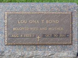 Lou Ona <i>Turman</i> Bond