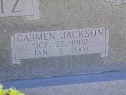 Carmen <i>Jackson</i> Lantz