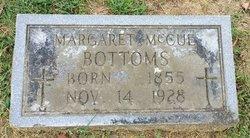 Margaret Maggie <i>McCue</i> Bottoms