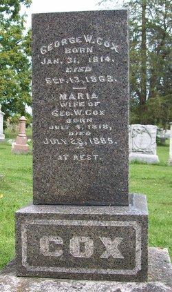 Maria <i>Everhart</i> Cox