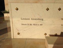 Leonore Lee <i>Cohn</i> Annenberg