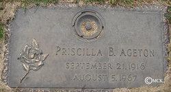 Priscilla B. <i>Hanlon</i> Ageton