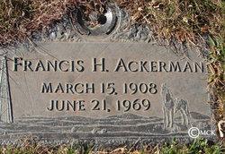Francis H. Ackerman