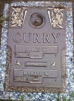 Myrtle W <i>Walter</i> Curry