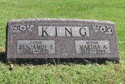 Martha A King