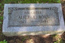 Alice E Boen