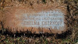 Thelma <i>Aaronson</i> Chernoff