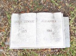Mrs Annie <i>Stewart</i> Alexander