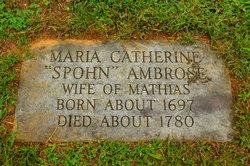 Maria Catherine Spohn Ambrose