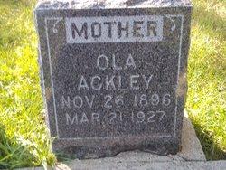 Ola Ackley