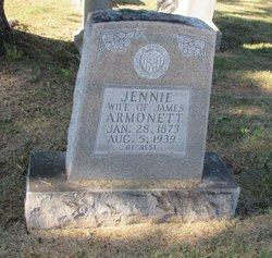 Jennie <i>Butler</i> Armonett