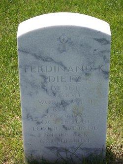 Ferdinand K Dietz