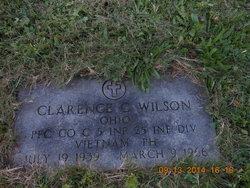 PFC Clarence Cornnelius Wilson